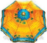 Зонт пляжный с наклоном пальма 1.8 м. диаметр оптом, фото 1