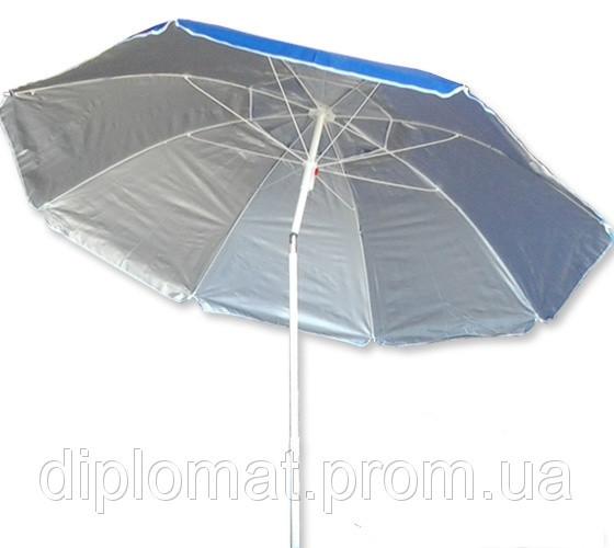 Пляжный зонт 1.8 м. диаметр