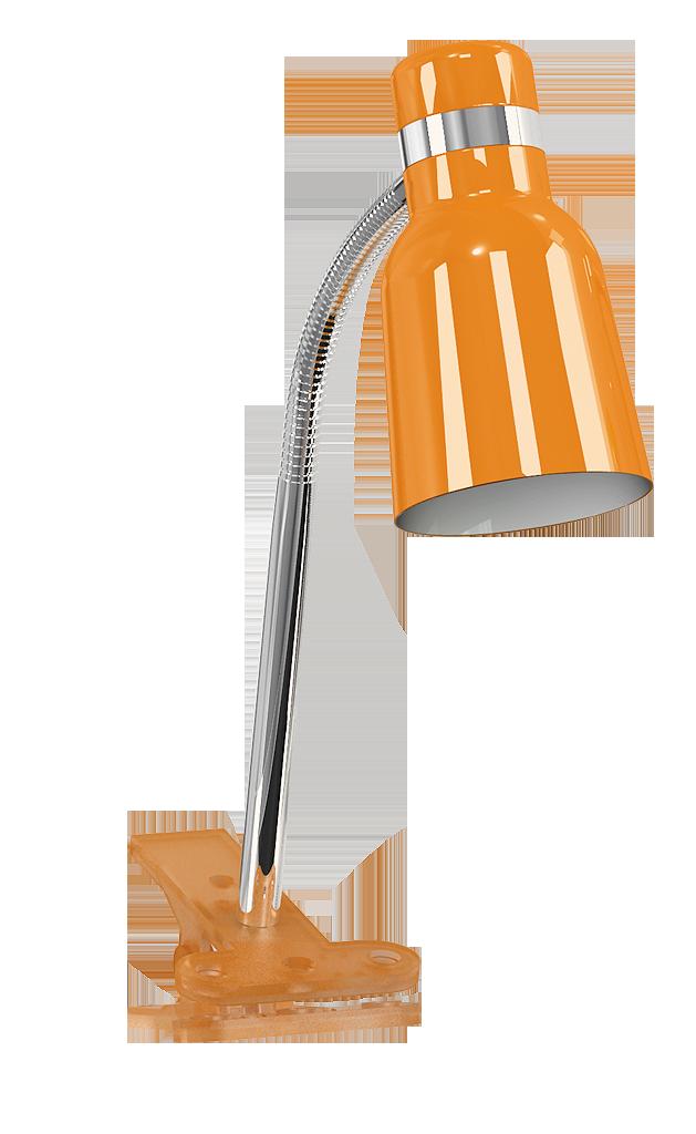 Настольная лампа Rabalux Color 4295 1х40Вт E14 оранжевый/металл