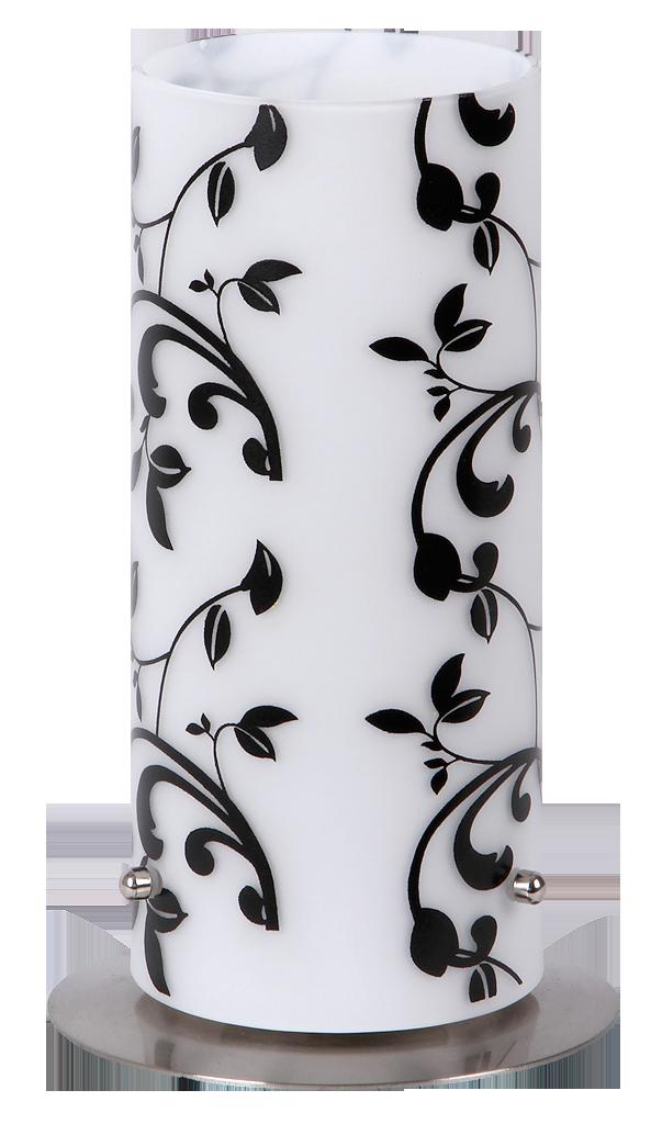 Настольная лампа Rabalux Blossom 6396 1х60Вт E27 белый/металл