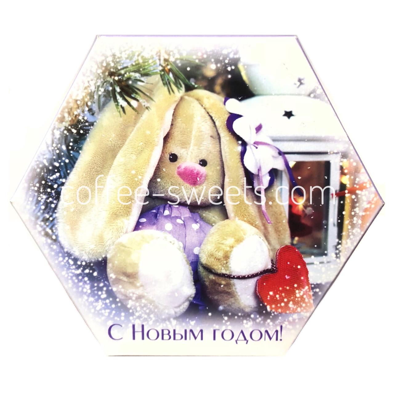 """Наборы шоколадных конфет Кутюрье """"Зайка"""" 130гр"""