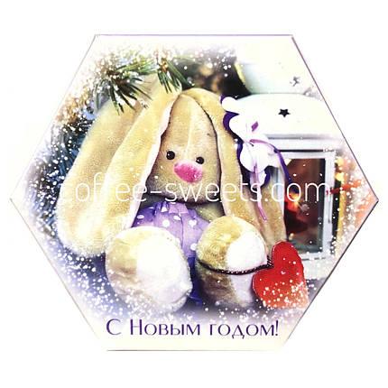 """Наборы шоколадных конфет Кутюрье """"Зайка"""" 130гр, фото 2"""