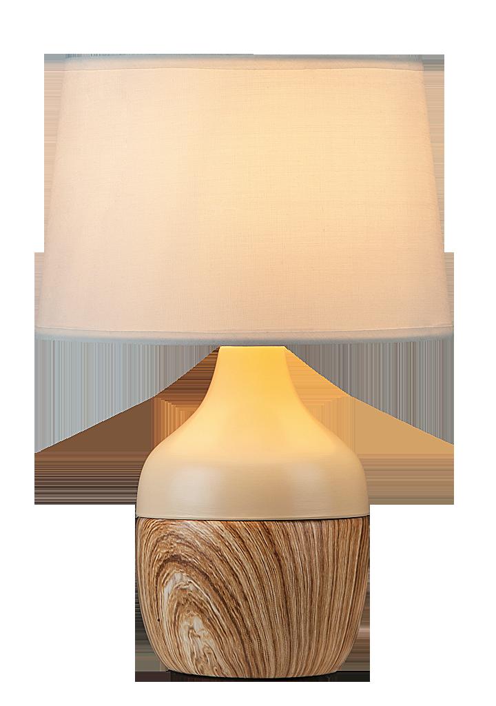 Настольная лампа Rabalux Yvette 4370 1x40Вт E14 LED бежевый/керамика