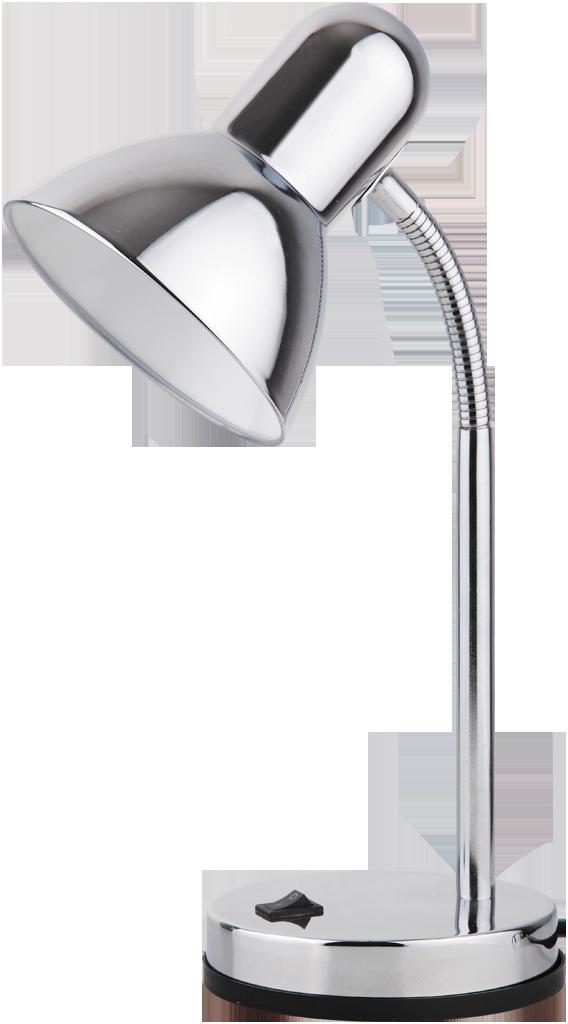 Настольная лампа Rabalux Clark 4255 1x40Вт Е27 металл/серебро