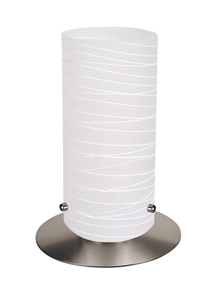 Настольная лампа Rabalux Aurel 6339 1х60Вт E27 серебро/металл
