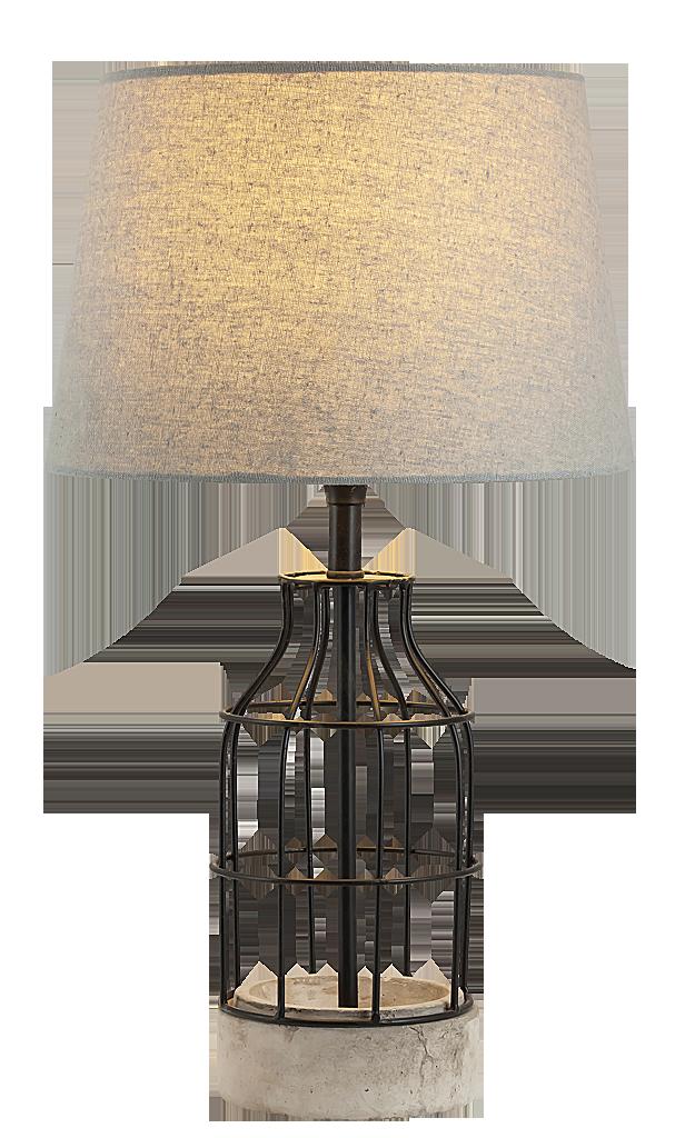 Настольная лампа Rabalux Ava 4385 1x40Вт E27 ткань/серый