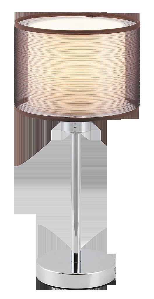 Настольная лампа Rabalux Anastasia 2631 1х60Вт E27 серебро/металл