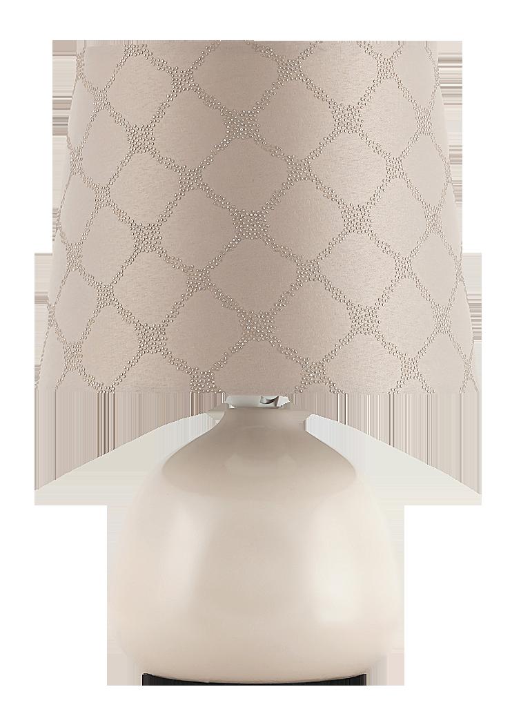 Настольная лампа Rabalux Ellie 4380 1x40Вт Е14 керамика/бежевый
