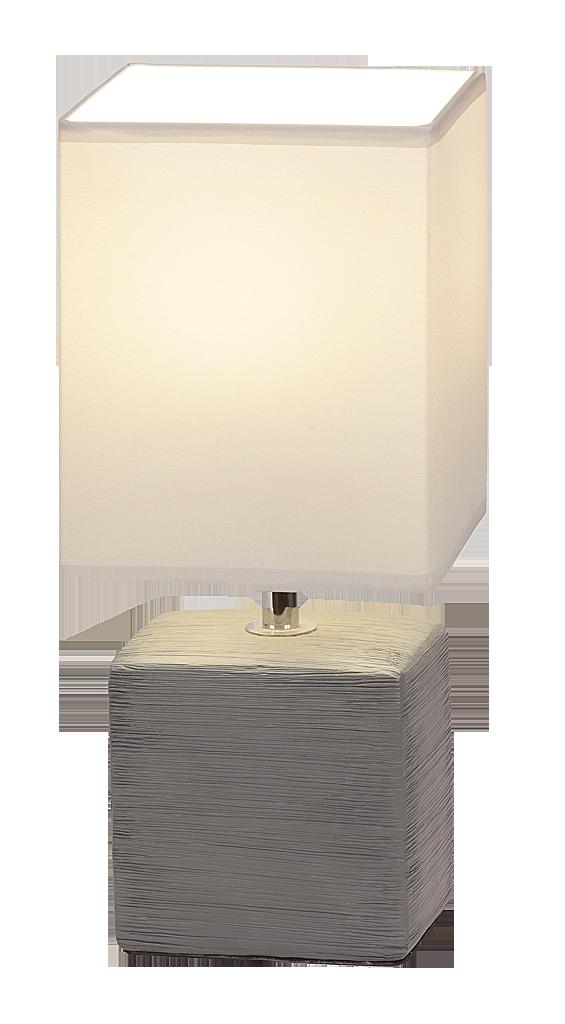 Настольная лампа Rabalux Orlando 4458 1x40Вт Е14 керамика/белый