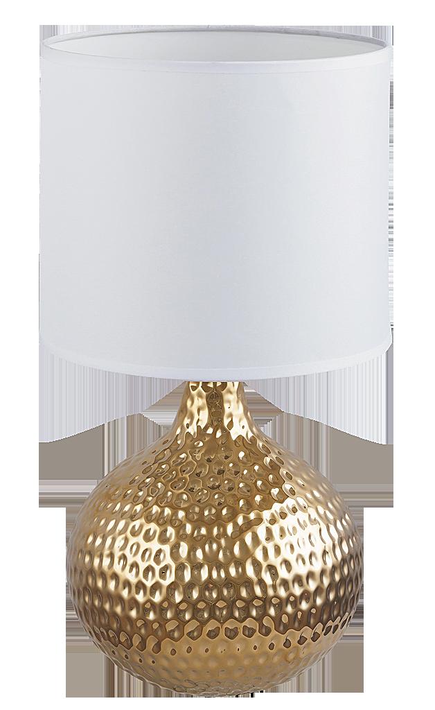 Настольная лампа Rabalux Rozin 4977 1x40Вт Е14 керамика/золото