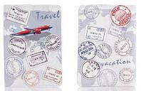 Обложка на паспорт из мягкой кожи Travel