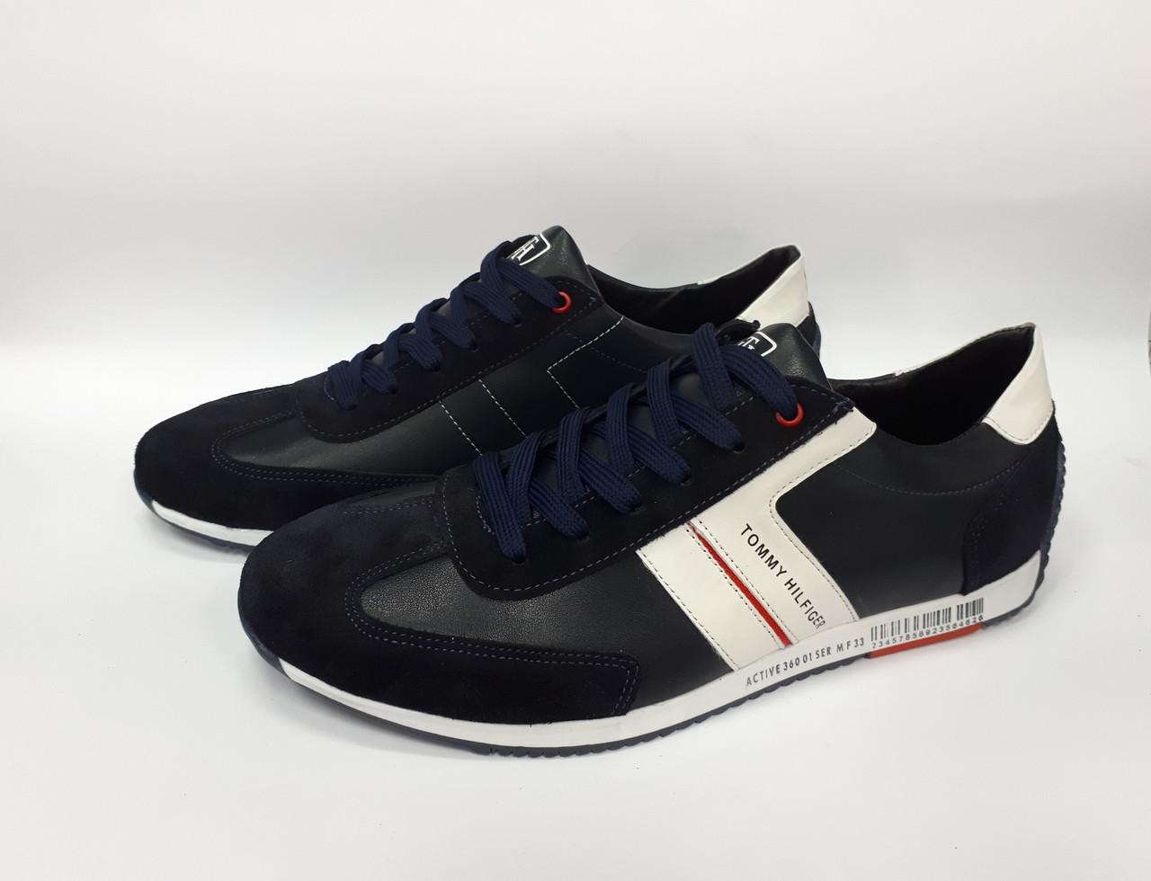 Мужские кожаные кроссовки Tommy Hilfiger. Украина  продажа 52b094490377c
