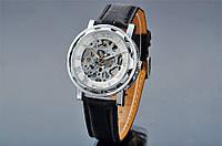 Механические наручные часы,скелетон, Winner Skeleton, м-005