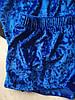 Пижама женская велюровая майка и шорты електрик 01, фото 3