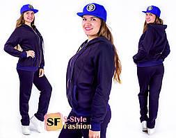 Тёплый спортивный костюм Анита 50-56 р 2 цвета