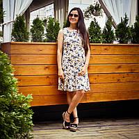 1092d239880 Летнее платье с воланом для кормления - Лилии