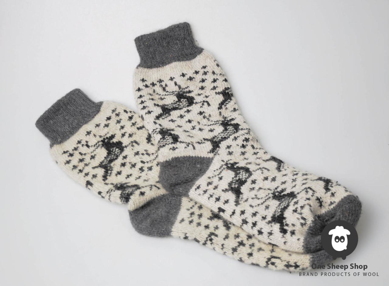 2b03ba0243b71 Шерстяные носки, теплые вязаные носочки, мужские зимние носки - HandWork  Studio - Интернет магазин