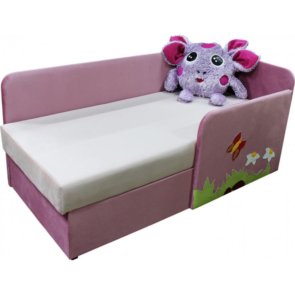 Детский диванчик кроватка Ribeka Лунтик 14M51-Г (правый) Сиреневый
