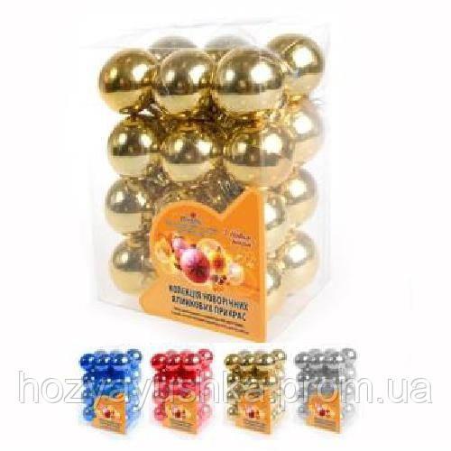 Елочные игрушки 8101 шары