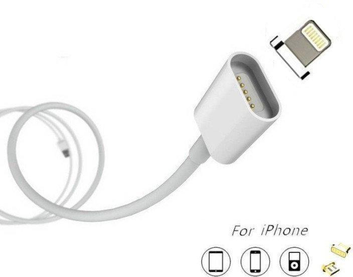Кабель магнитный шнур 2 в 1 iPhone/Android Lightning Magnetic Cable