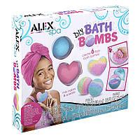 Набор для изготовления бомбочек для ванны Алекс ALEX Spa DIY Bath Bombs