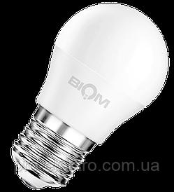 Светодиодная лампа BIOM smd BT-543 4W, G45, E27 Тёплый Белый