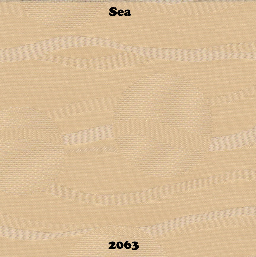 Готовые рулонные шторы Море 2063