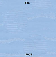 Готовые рулонные шторы Море 2074
