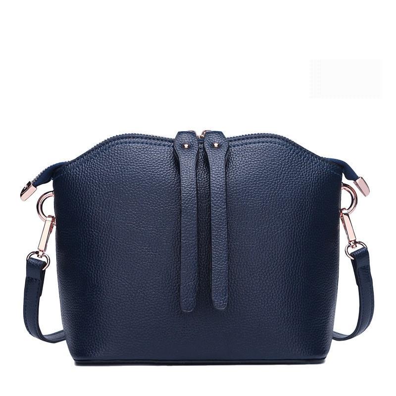 Женская сумка синяя из качественной натуральной кожи купить по ... 3323de64c1a