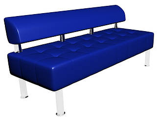 Диван-офіс Тонус без підлокітників Sentenzo 1600x600x700 Синій (2366245821412)