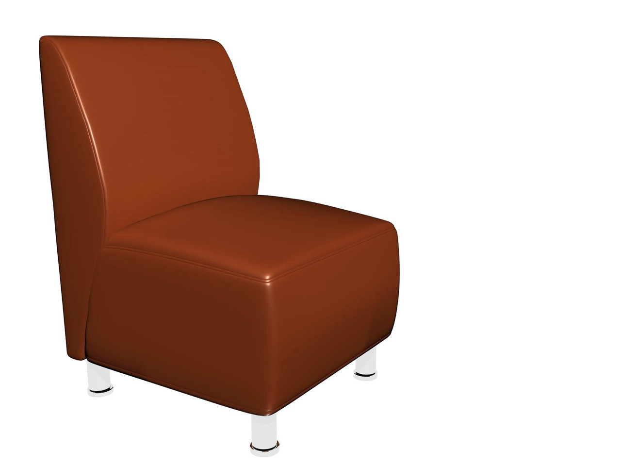 Офісний диван Актив Sentenzo 600x700x900 Світло-коричневий (232489422142)