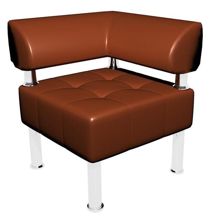 Офисный диван Тонус Sentenzo 600x600x700 Светло-коричневый(142361257222)