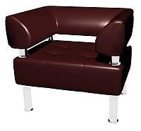 Офисный диван Тонус Sentenzo 800x600x700 Темно-вишневый (3236125722)