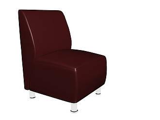 Офісний диван Актив Sentenzo 600x700x900 Темно-вишневий (232489422143)