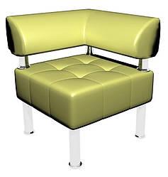 Офісний диван Тонус Sentenzo 600x600x700 Світло-зелений (142361257229)