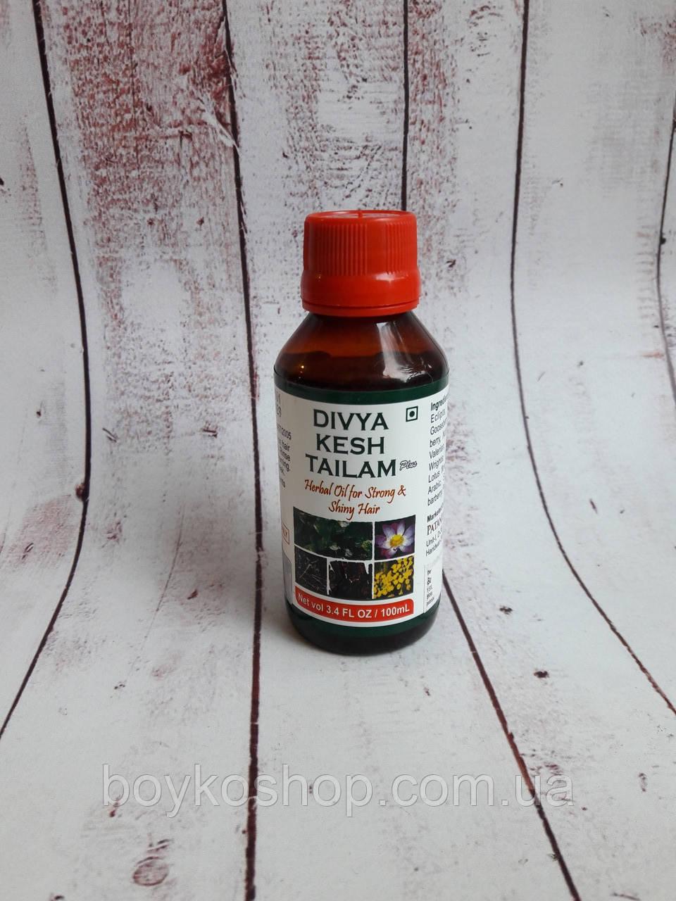 DIVYA Kesh Taila лечебное масло от выпадения волос. 100мл