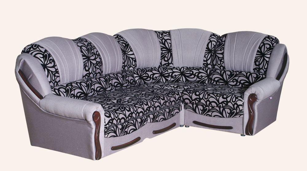 Угловой диван Sky Soft Лилия 275 см Голубой