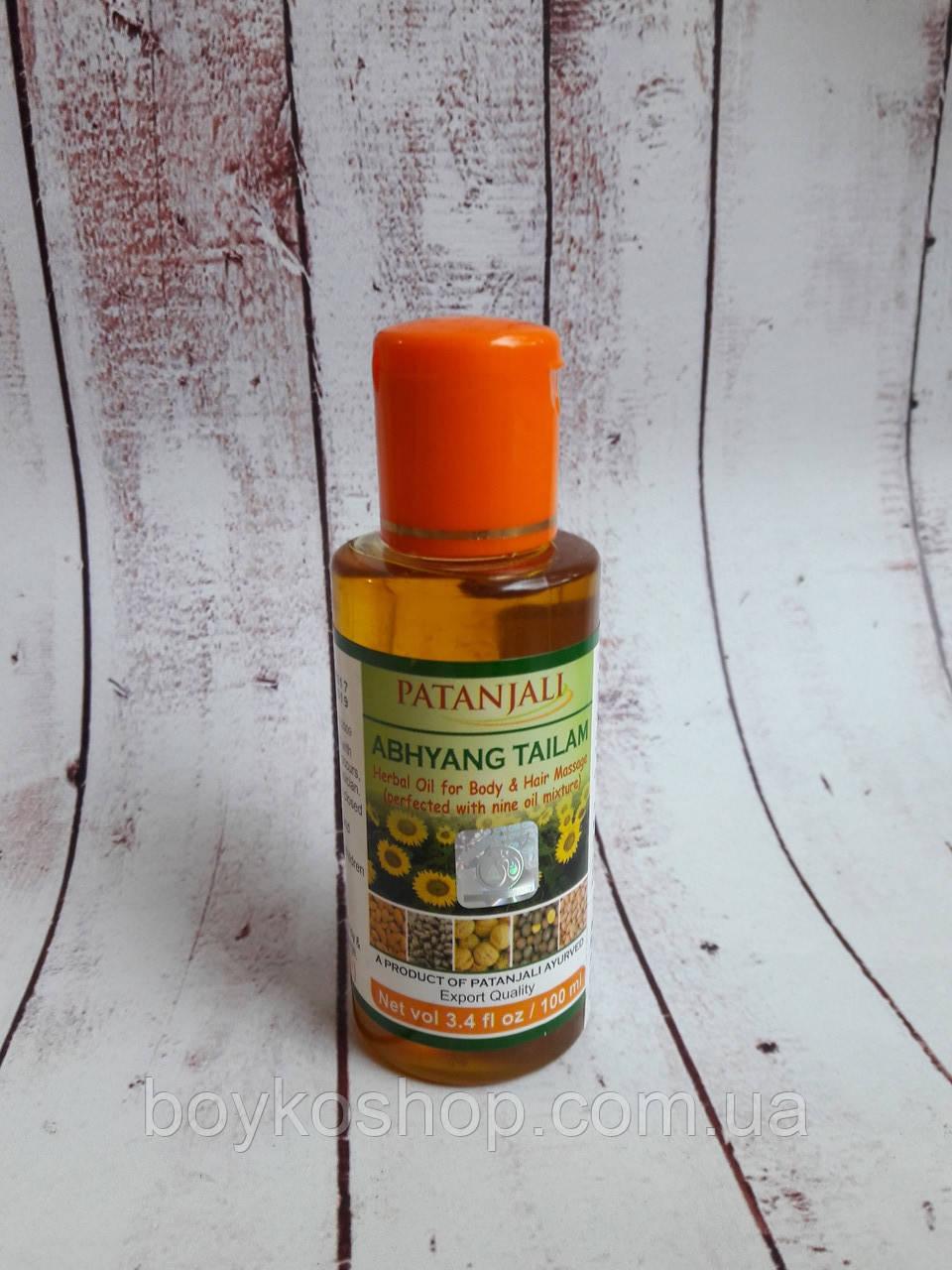 Масло массажное (для тела и волос) - Abhyanga Tail 100мл