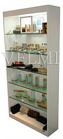 Витрина для парикмахерской VM604 ДСП Swisspan Пепельный (Velmi TM)