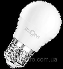 Светодиодная лампа BIOM smd BT-544 4W, G45, E27 Белый
