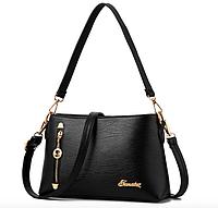 Женская сумка кросс боди Jematoz через плечо Черный, фото 1