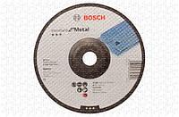 Круг зачистной Bosch Standard for Metal 180×6 мм, выпуклый - 10 шт.