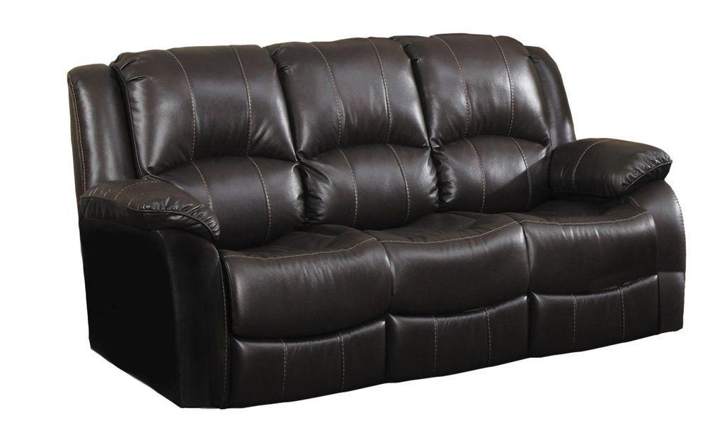 Прямий диван Bellini Денді (Dendi) 2110мм DENDTK3R Темно-коричневий