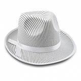 Шляпа Гангстера в полоску черная, фото 6