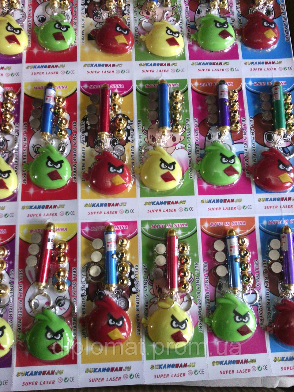 Брелок-лазер Angry Birds