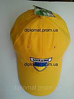 Кепка (бейсболка) с символикой Украины, флажок Украины