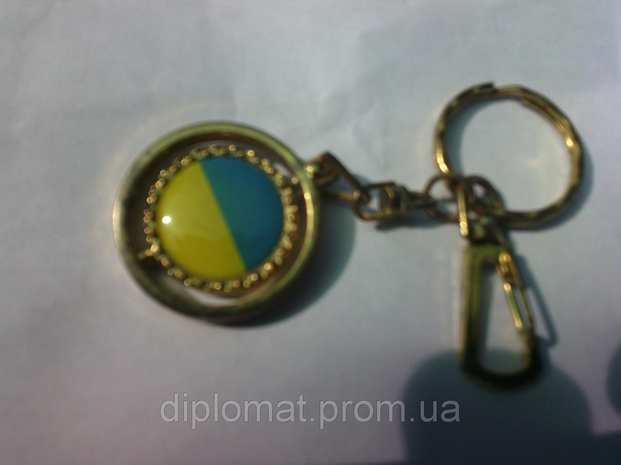 Брелок для ключей с украинской символикой