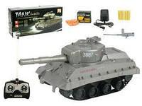 Радиоуправляемый Танк аккум стреляет пулями, 25-9,5-10см, коробка 31-15-12,5см