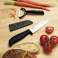 Набор керамических ножей The Worlds Best Ceramic Knife (нож+экономка)