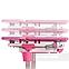 Растущая парта для девочки FunDesk Lavoro L Pink, фото 5